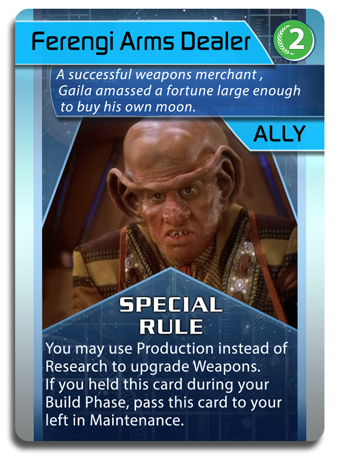 Ally - Ferengi Arms Dealer