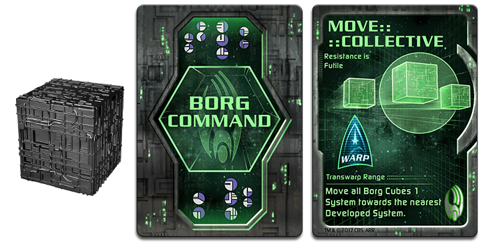 Borg Command Cards