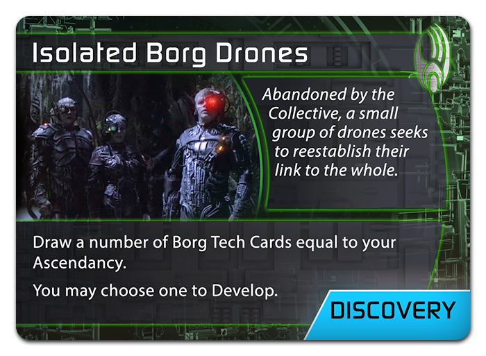 Isolated Borg Drones