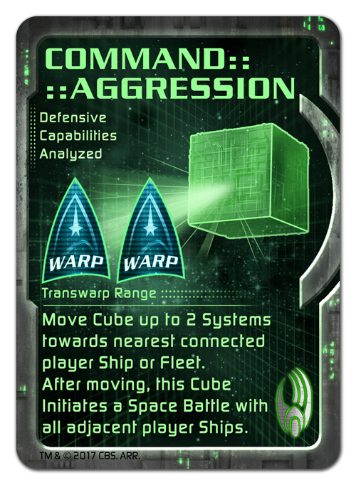 Borg Command Cards - Aggression