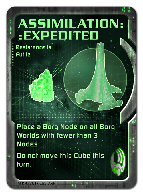 Borg Command Cards - Assimilation