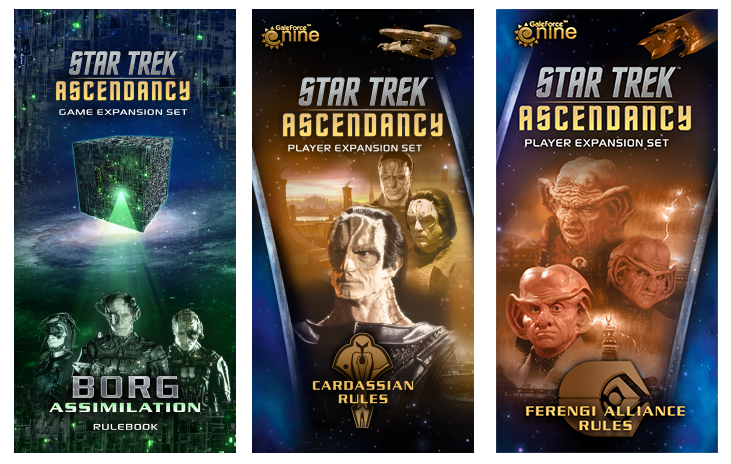 Star Trek: Ascendancy Expansions